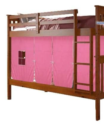 Lucy Espresso Bunk Bed for Girls Custom Kids Furniture