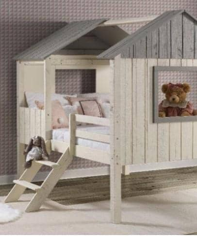 Luna Low House Loft Bed Custom Kids Furniture