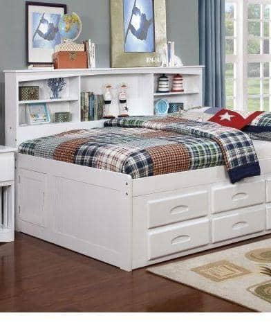 Mackenzie Bed with Drawers Custom Kids Furniture