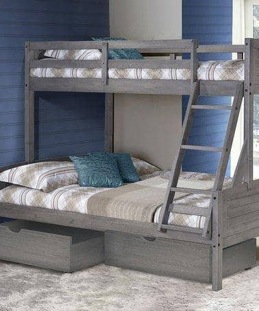 Madison Twin over Full Bunk Bed with Drawers Custom Kids Furniture