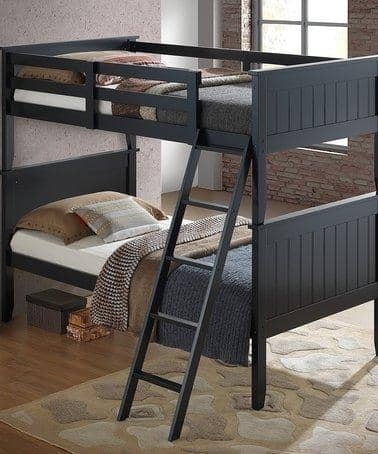 Matthew Black Bunk Bed Custom Kids Furniture