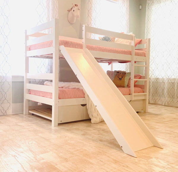 Olivia Bunk Bed with Slide Custom Kids Furniture