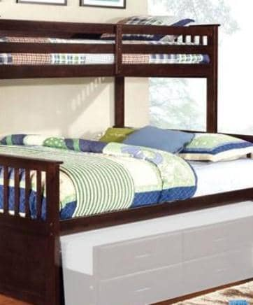 Penelope Twin XL over Queen Bunk Bed Custom Kids Furniture