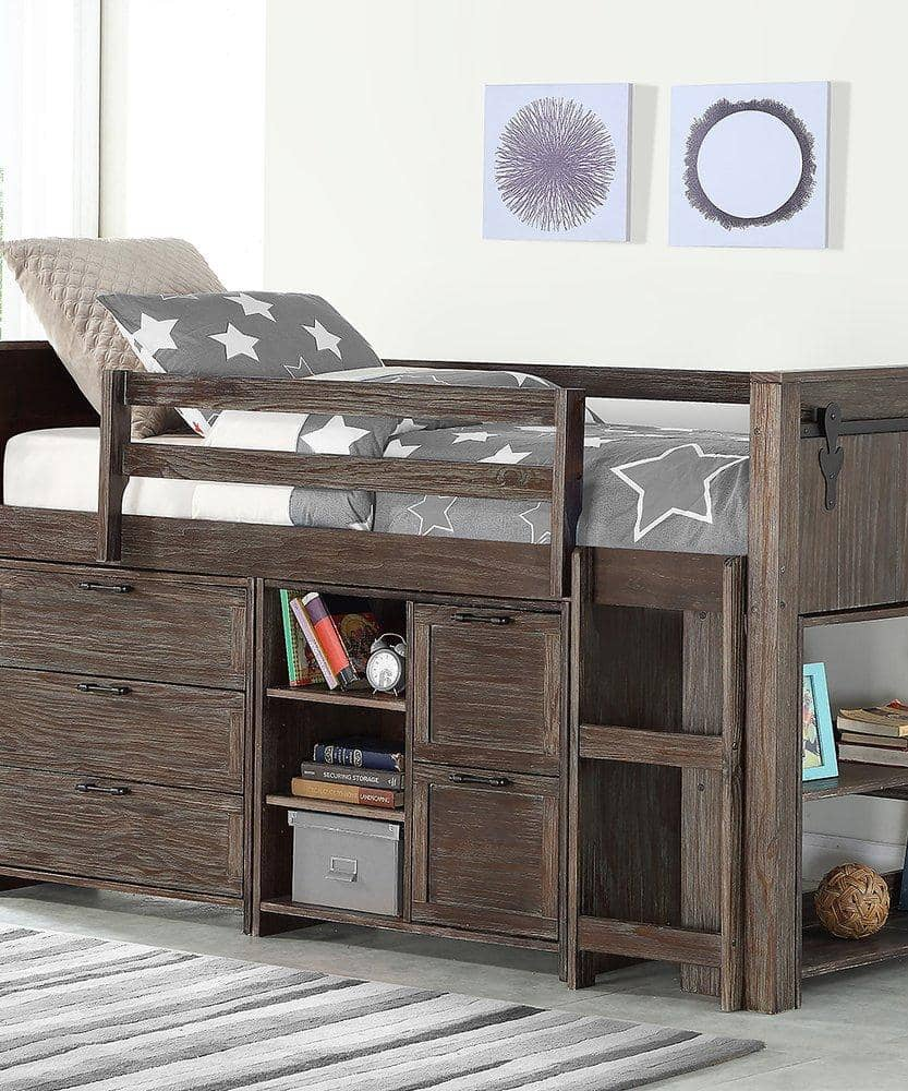 Remi Loft Bed with Storage Custom Kids Furniture