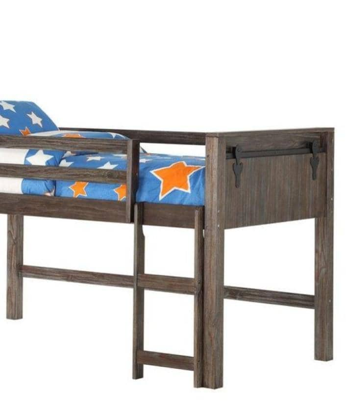 Remi Rustic Loft Bed Custom Kids Furniture