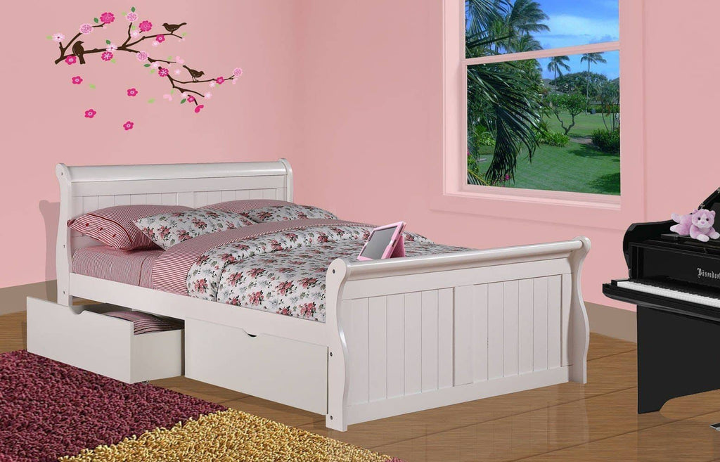 Scarlett Storage Bed in Full Custom Kids Furniture