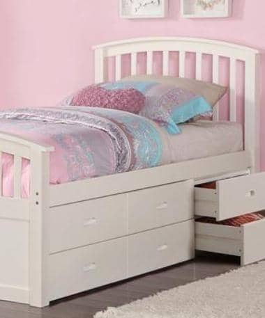 Skyler Storage Bed for Girls Custom Kids Furniture