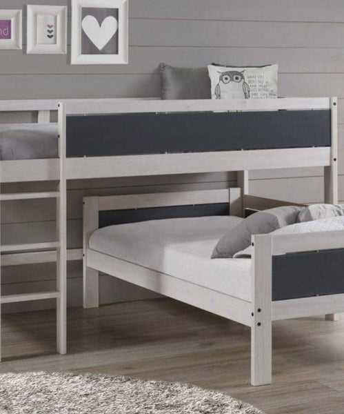 Stormi L Shaped Bunk Bed  Custom Kids Furniture