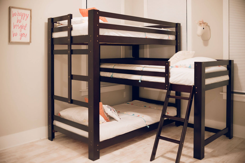 Sydney L-Shaped Triple Bunk Bed Custom Kids Furniture
