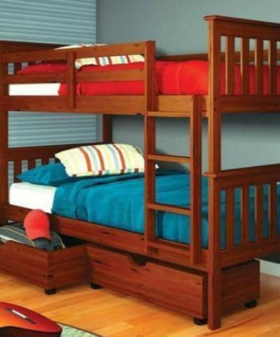 William Bunk Beds for Kids with Storage Custom Kids Furniture