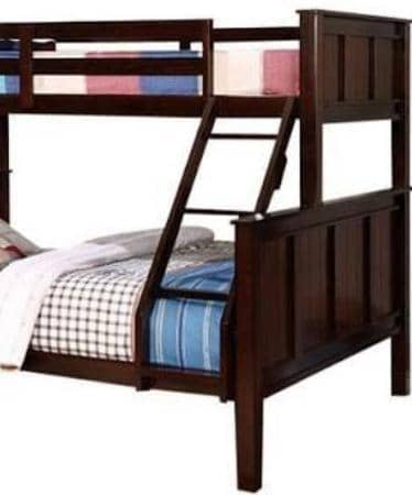 Xavier Twin XL over Queen Panel Bunk Bed Custom Kids Furniture