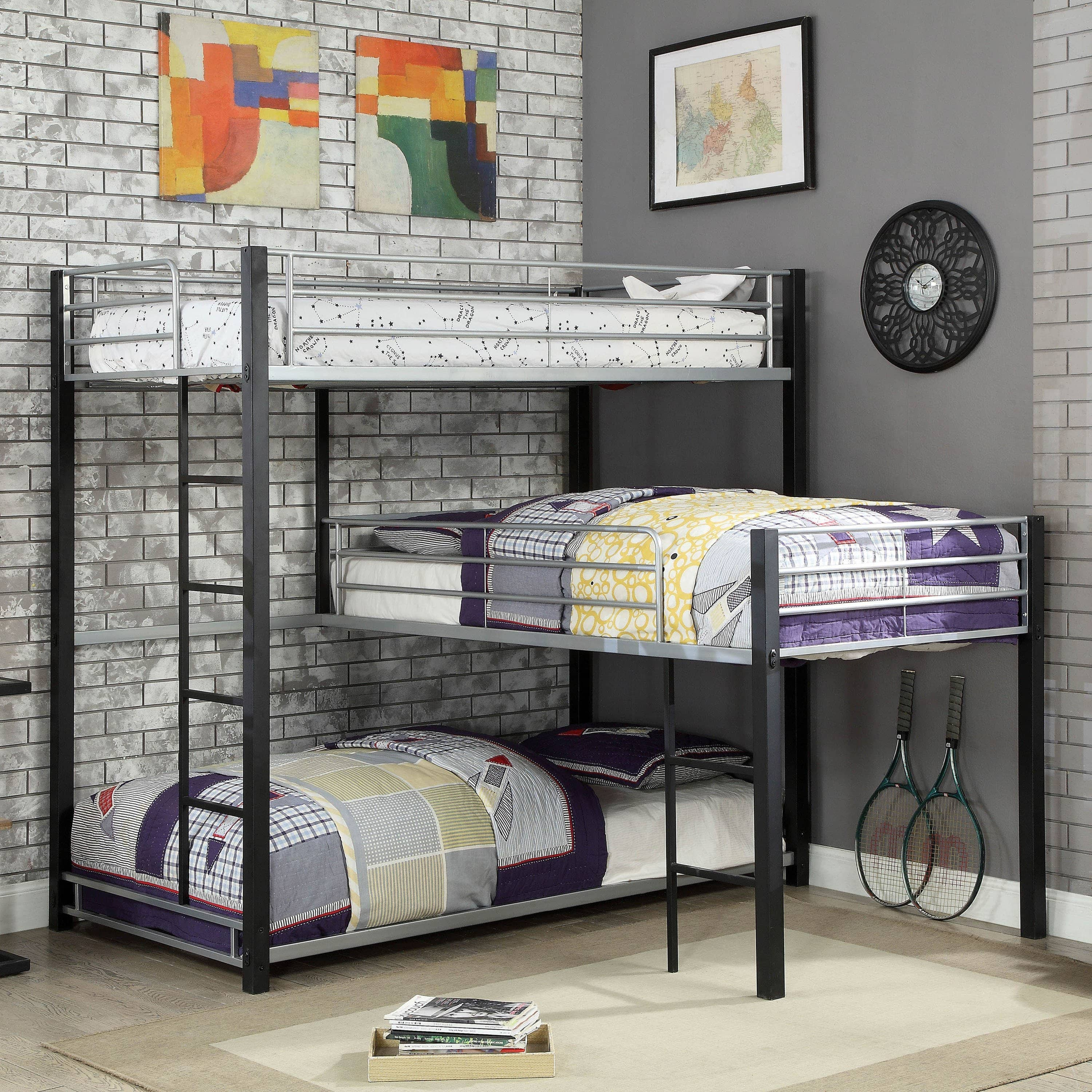 Picture of: Zak Three Bunk Bed