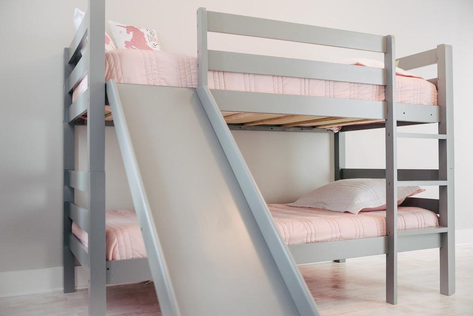 Bunk Beds with a Slide