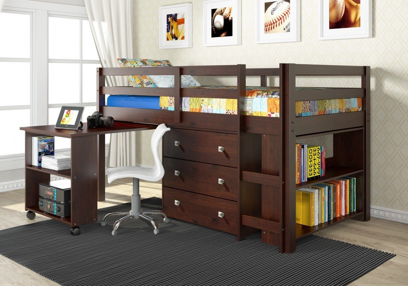 Loft Beds with Desks