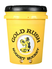 Yellow Gold Rush Nugget Bucket