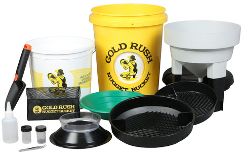 Yellow Gold Rush Nugget Bucket - Gold Rush Nugget Bucket  - 2