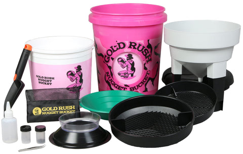 Pink Gold Rush Nugget Bucket - Gold Rush Nugget Bucket  - 2