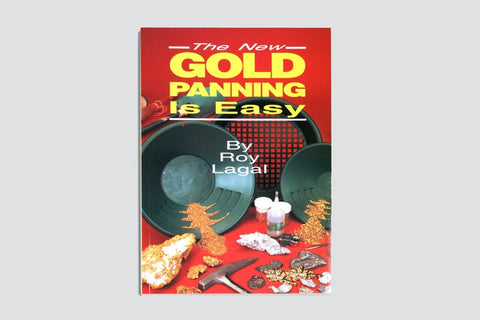 New Gold Panning Is Easy - Prospecting and Treasure Hunting (Treasure Hunting Text) - Gold Rush Nugget Bucket