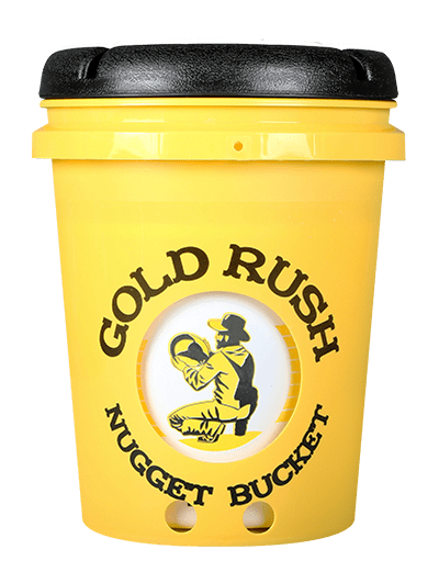 gold rush nugget bucket