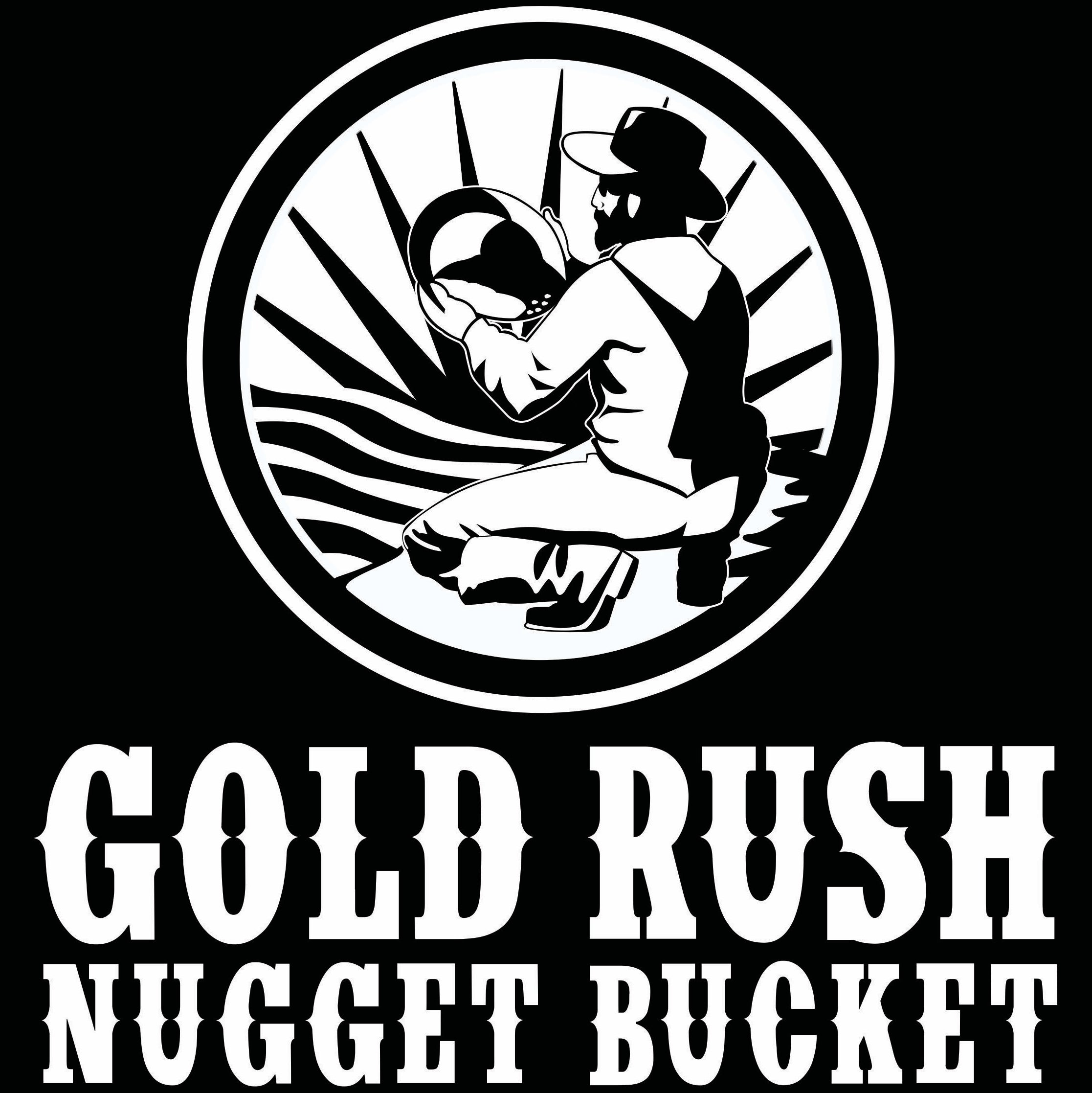 Gold Rush Nugget Bucket New Logo