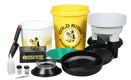 Gold Rush Nugget Bucket Kit