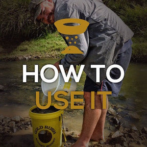 How To Use The Gold Rush Nugget bucket