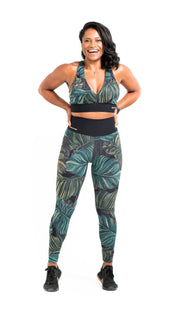 Amazon Leggings - Sara Da Silva Brazilian Sportswear