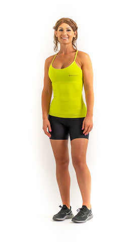 Crossover Top - Lime Green - Sara Da Silva Brazilian Sportswear