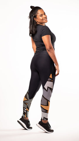 Flash Leggings - Sara Da Silva Brazilian Sportswear