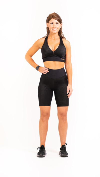 High Fashion Biker Shorts - Sara Da Silva Brazilian Sportswear