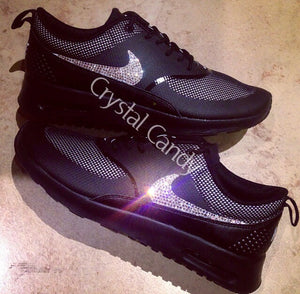 Crystal Nike Thea in All Black (Ticks Only)