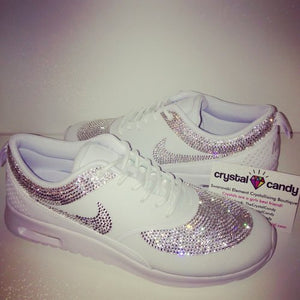 Crystal Nike Thea in White (Fully Crystallised)