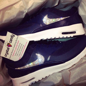 Crystal Nike Thea in Navy