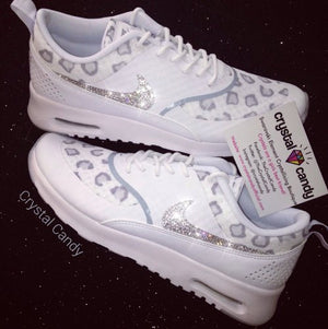 Crystal Nike Thea in Leopard White