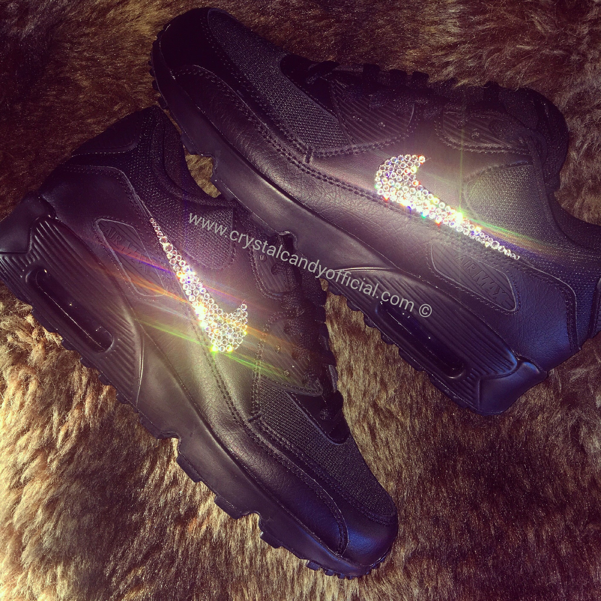 fb24dfda40d2e2 ... buy crystal nike air max 90s in black ticks only e6669 c4275