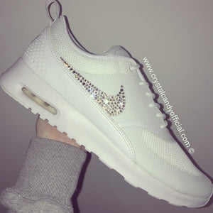 Crystal Nike Thea in White (Ticks Only)