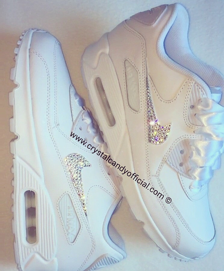 super popular 6ed54 83c4b Crystal Nike Air Max 90 s (Ticks Only)