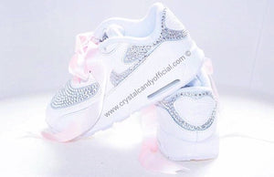 Kids/Baby Crystal Nike Air Max 90 (Fully Crystallised)