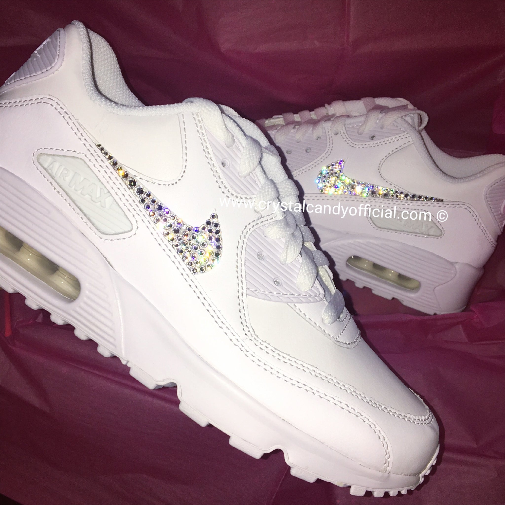 b92d94f97360d Crystal Nike Air Max 90's (Ticks Only) - Crystal Candy Limited