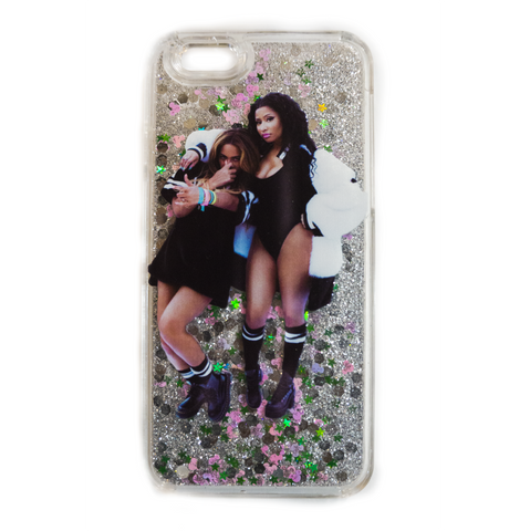 Nicki & Bey Liquid Glitter Case
