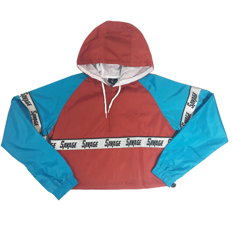 SAVAGE CROP WINDBREAKER