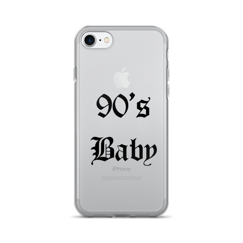 90s Baby iPhone 7/7 Plus Case