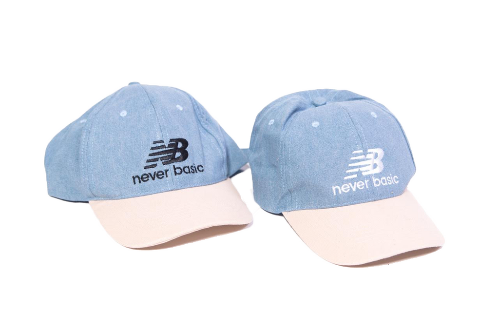 Never Basic Dad Hats