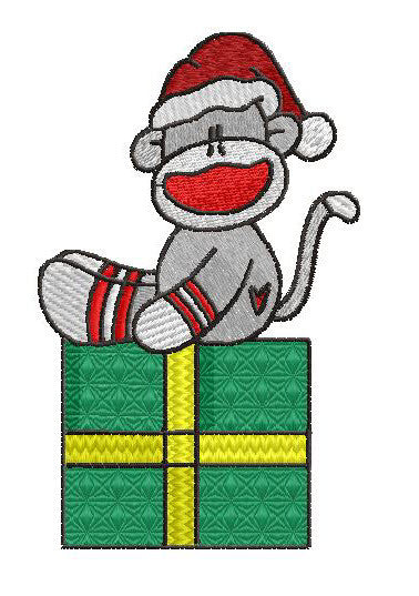 Christmas Sock Monkeys