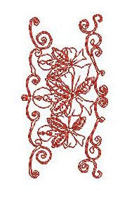 Christmas Lace Borders