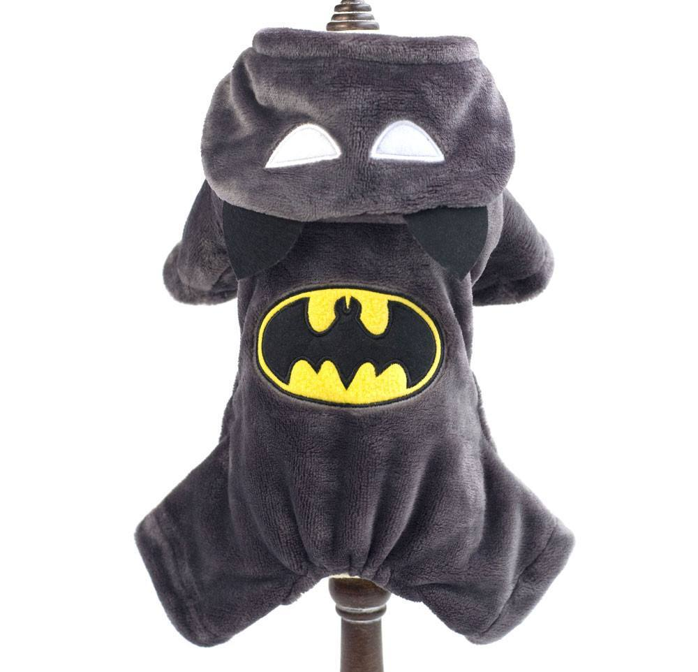 Costume - Winter Coat Batman Jumpsuit Pants Small Dog
