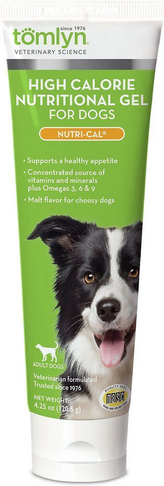 Dog Gel - Tomlyn Nutri-Cal, Nutritional Supplement For Dogs