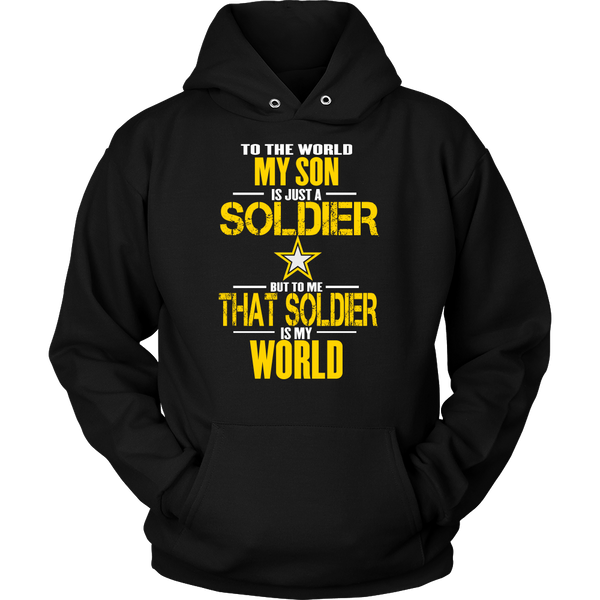 Army - Son is a Soldier - Design on front