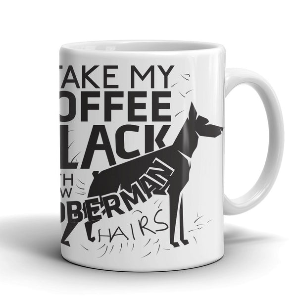 Mugs - Doberman Mug - C