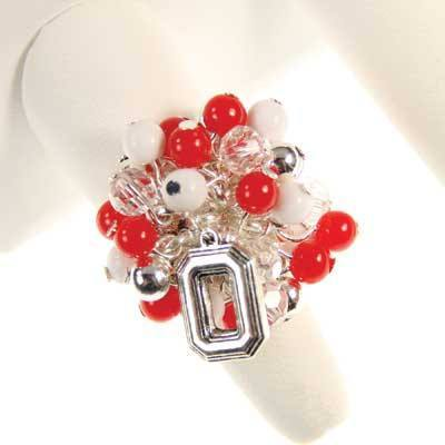 Ohio State Logo Bauble Ring COHRB